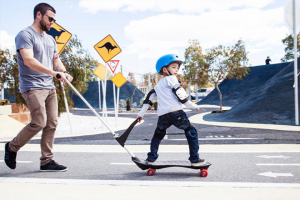 Parents should buy skateboards for eight-year-olds from reputable brands.